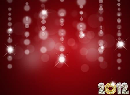 New year background. (2012) photo