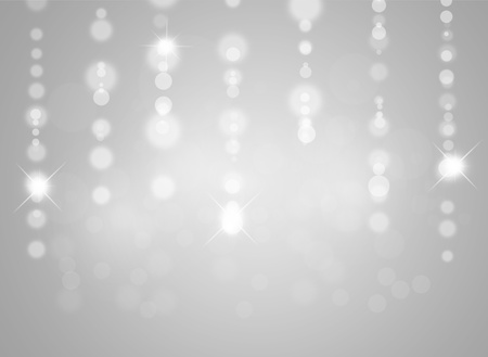 silver background: Beautiful abstract gray background with stars. Stock Photo