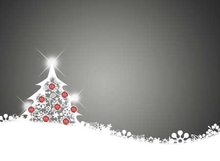 Boldog karácsonyt háttérben karácsonyfa. Stock fotó