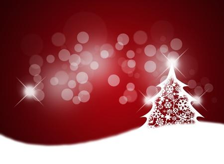 크리스마스 트리 메리 크리스마스 배경입니다. 스톡 사진