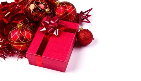 Christmas Gift isolated on white background Stock Photo - 11425292