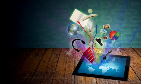 La pantalla táctil Tablet PC