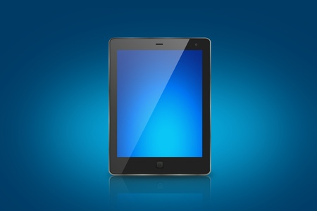 Tablet Computer or pad Stock Photo - 12343693