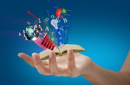 tanulás: Mágikus könyv kéznél