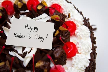 cake pick: Mother Stock Photo