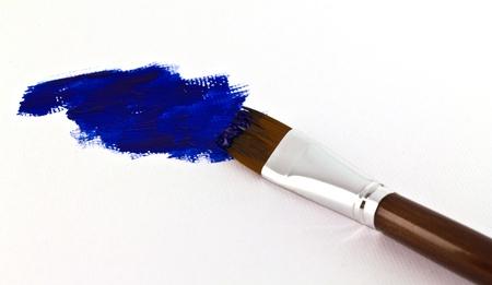 Artists paint brush photo