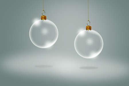 Transparent Christmas ball Stock Photo - 13627863