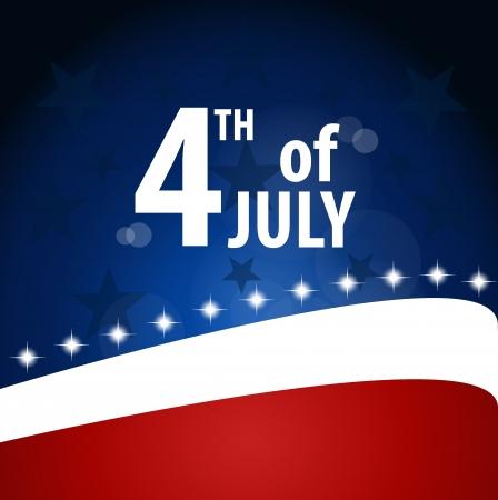 juli: Amerikaanse Vlag voor de Dag van de Onafhankelijkheid