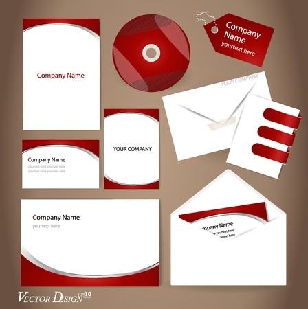 Business style templates for your project design Vector