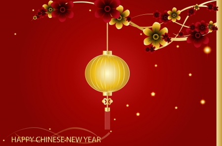Fairy-lights. Big traditional chinese lanterns will bring good luck and peace to prayer during Chinese New Year.