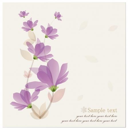 Flor de fondo de la vendimia. Foto de archivo - 14238278