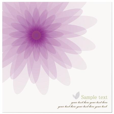 Abstracte achtergrond van mooie Lotus Flower.