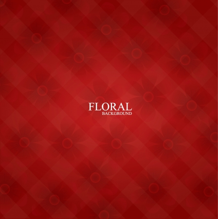 Seamless floral pattern background.  Vector
