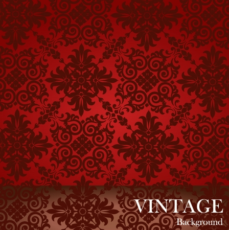 Seamless luxury pattern background. Vector illustration. Vector
