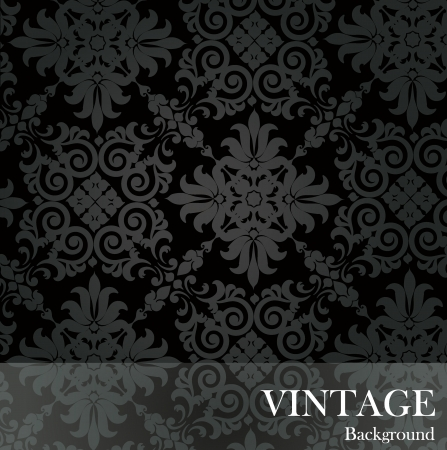 Seamless luxury pattern background.  Vector
