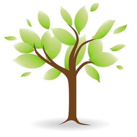 abstract: Abstract tree  Vector Illustration  Illustration