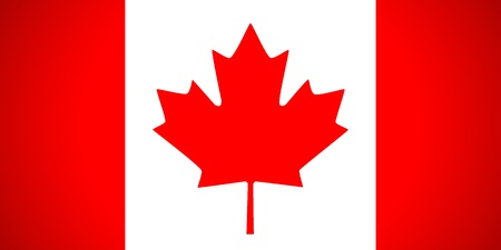 Canada flag. Vector illustration. Vector