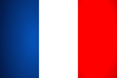 french symbol: France Flag. Vector illustration. Illustration