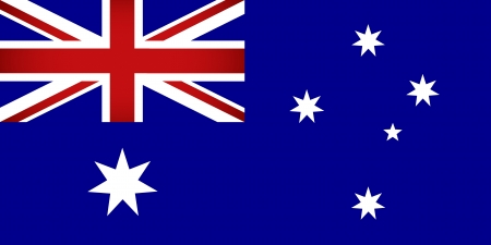 Australia Flag  Vector illustration  Vector