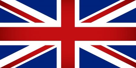 drapeau anglais: Royaume-Uni Vector illustration Drapeau