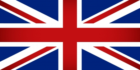 United Kingdom Flag  Vector illustration  Vector