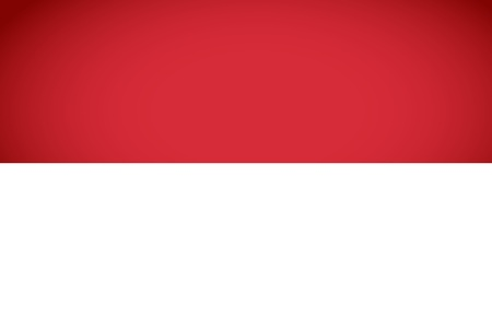 Indonesia Flag  Vector illustration  Vector