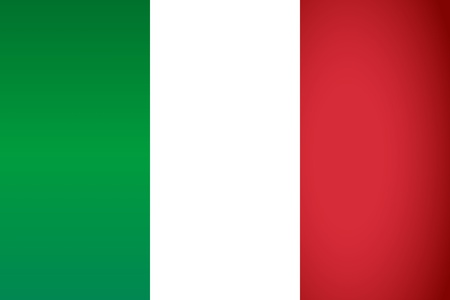Italy Flag  Vector illustration  Stock Vector - 14448285