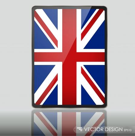 United Kingdom Flag illustration. Stock Vector - 14850614