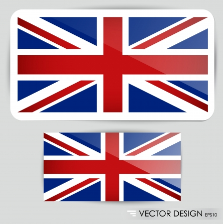 United Kingdom Flag illustration. Vector