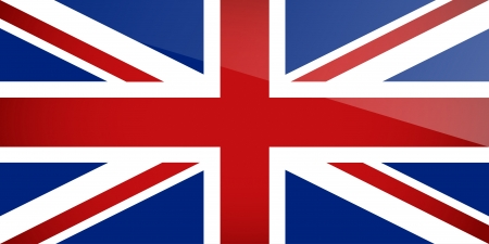 United Kingdom Flag   illustration  Vector