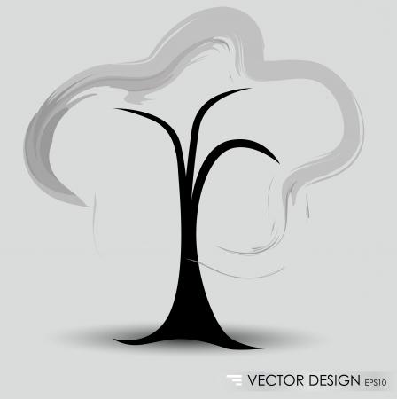 Abstract tree. Vector illustration. Stock Vector - 14927380