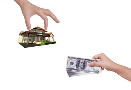 Buy the new house Stock Photo - 14933549