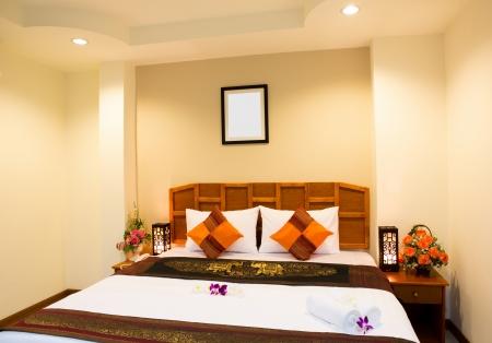 Interior of modern comfortable hotel room Stock Photo - 14944066