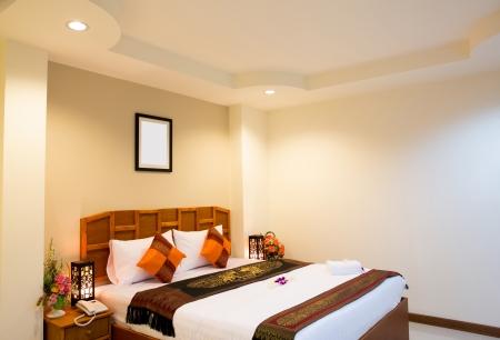 Inter of modern comfortable hotel room Stock Photo - 14944023