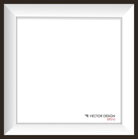 Modern frame, vector illustration  Vector