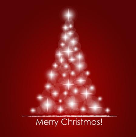 Karácsonyi háttér Christmas tree Illusztráció