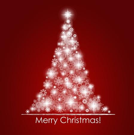 Christmas tła z choinki