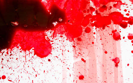 Halloween concept : Blood splatter photo