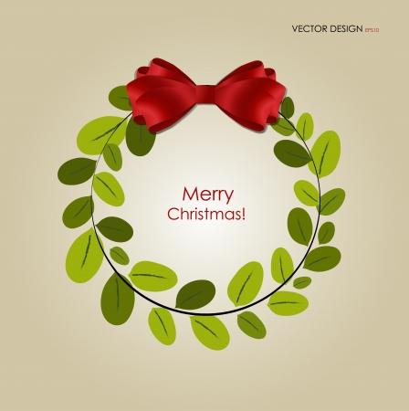 fita: Fundo abstrato do Natal com guirlanda de Natal