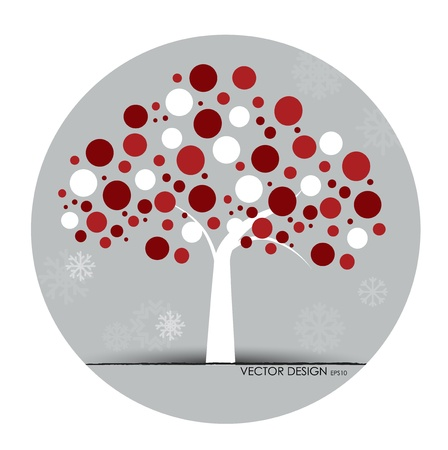 Abstract tree. Vector illustration. Stock Vector - 15868461