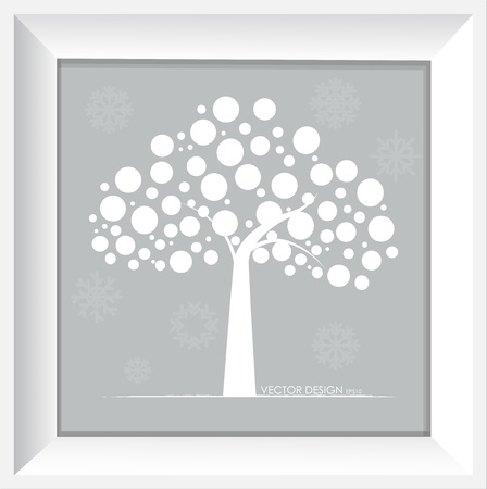 Abstract tree  Vector illustration  Vector