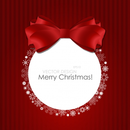 year january: Merry Christmas Greeting Card, illustration
