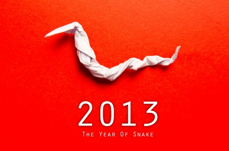 Year of the Snake design  2013 Chinese Year of the Snake photo