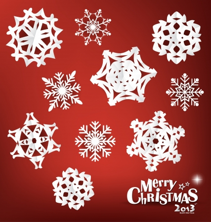 Snowflake, vector illustration. Stock Vector - 16767948