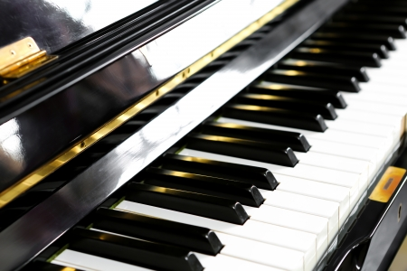 Close up of piano keys Stock Photo - 17301695