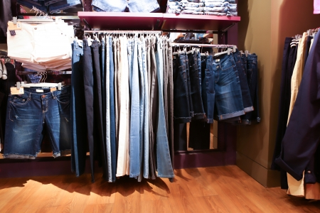 Interior of clothing store Stock Photo - 17301758