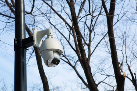 Outdoor CCTV Security camera photo