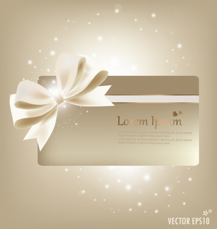 gift tag: Collection of gift cards and invitations. Vector illustration. Illustration