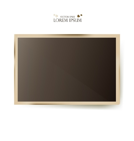 Photo frames- vector illustration. Vector