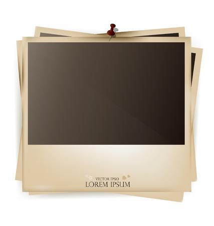 frame photo: Photo frames- vector illustration.